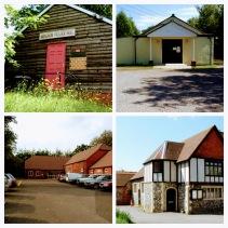 Village Hall Collage
